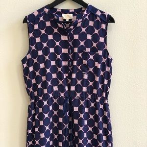 Collective Concepts Navy/Pink Dress